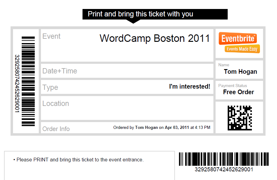 how to get email address of attendees eventbrite